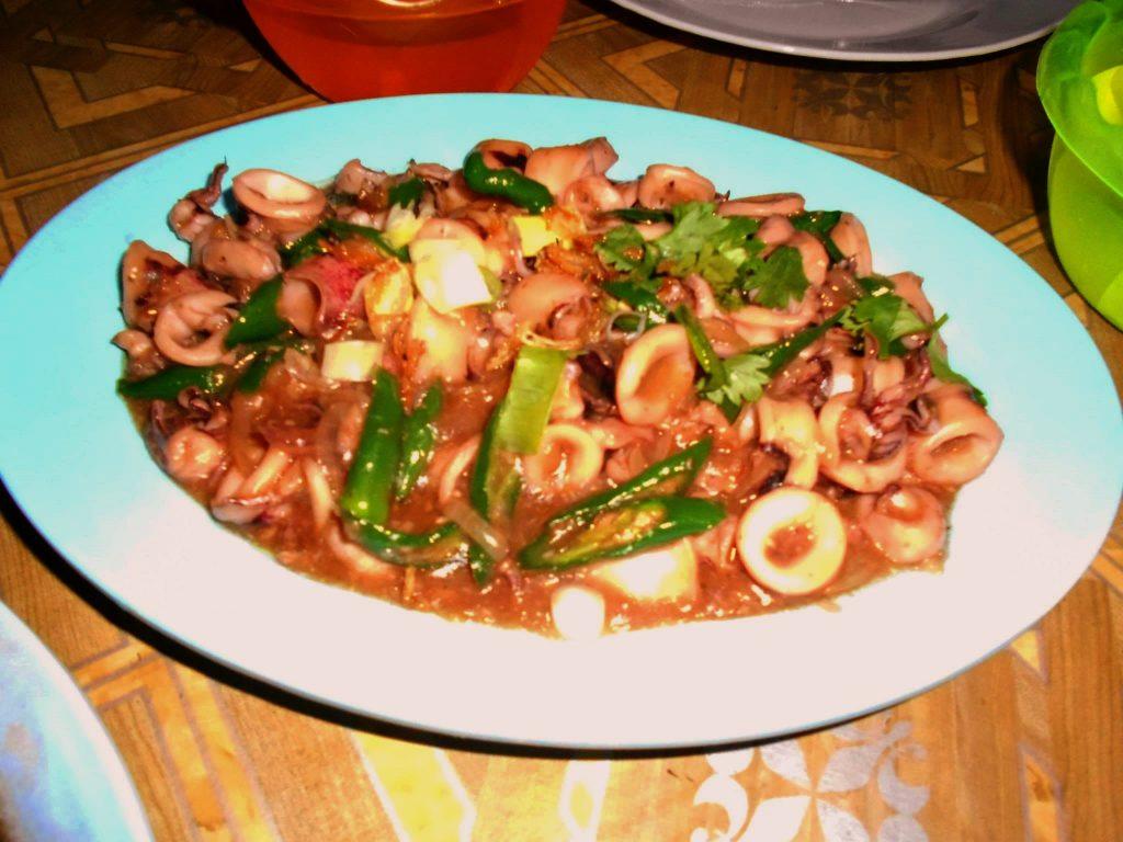 cumi cumi street food indonesia